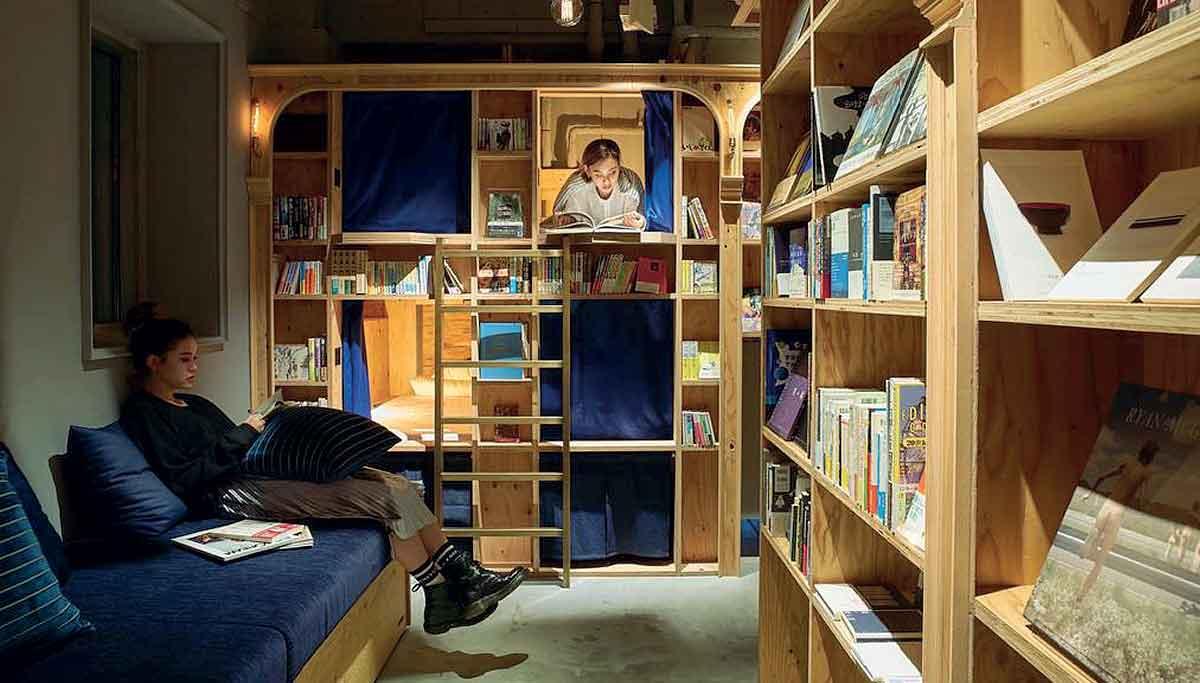 A napoli apre un 39 book bed 39 una libreria hotel in cui si for Piccole planimetrie a concetto aperto