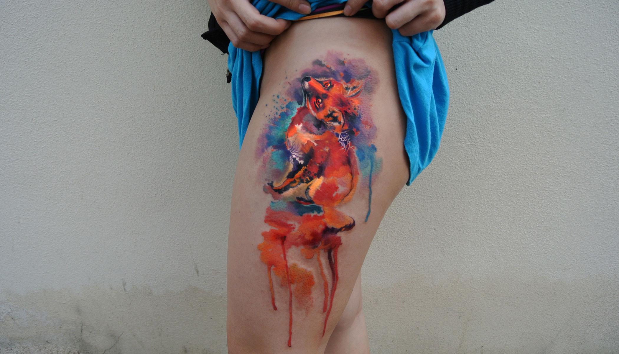 Colibri Tattoo Uomo questo tatuatore ceco fa degli accuratissimi tatuaggi