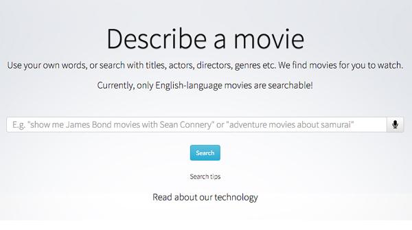 Arriva il motore di ricerca per i film di cui non si ricorda il titolo