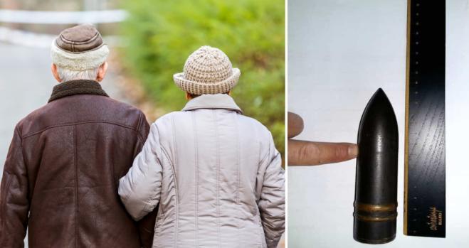 Una coppia di anziani di Monza usava una bomba come schiaccianoci