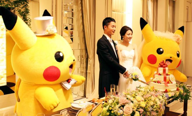 Arriva il matrimonio a tema Pokémon