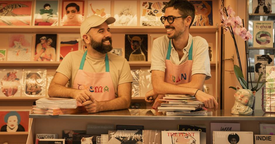 Apre a Barcellona la prima edicola lgbtq+